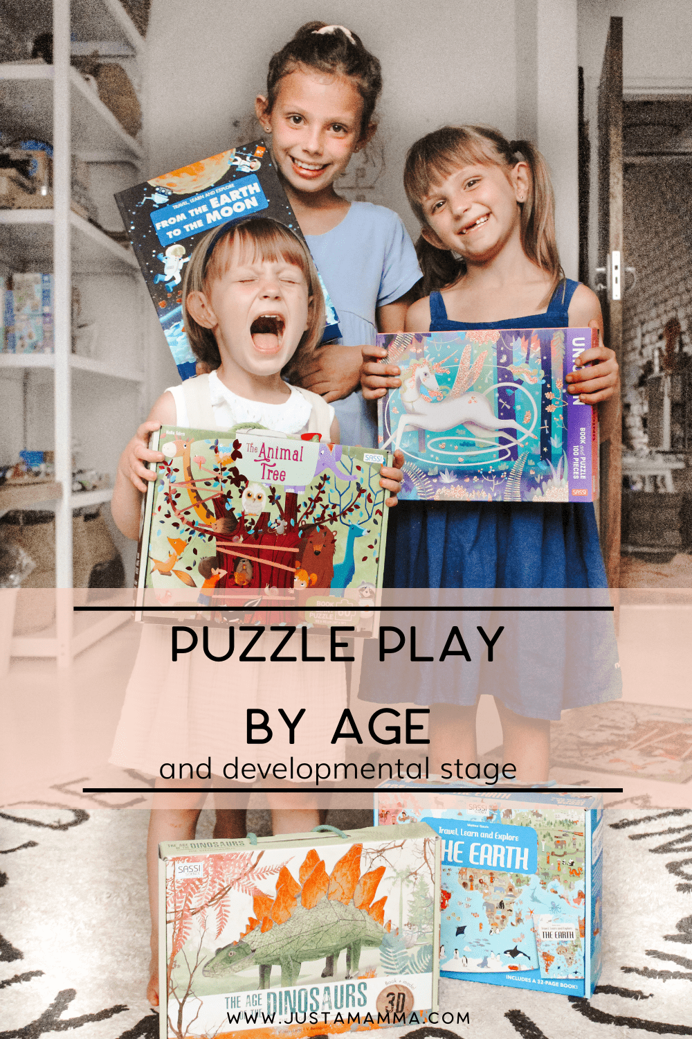 puzzle play by age and developmental stage