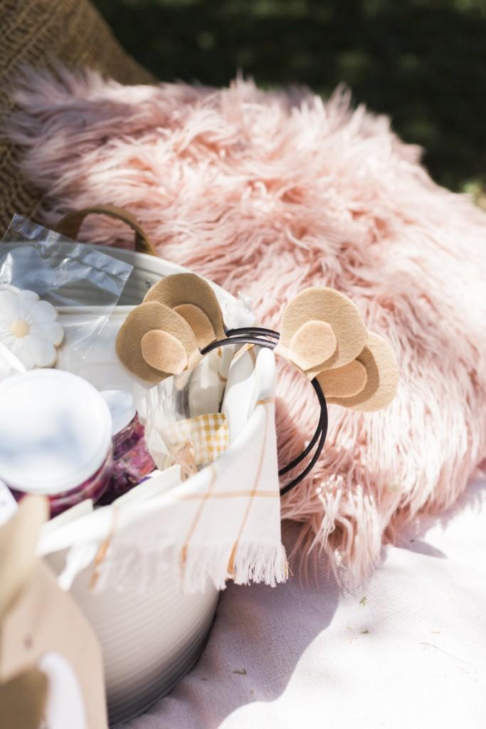 diy teddy bear ear how to