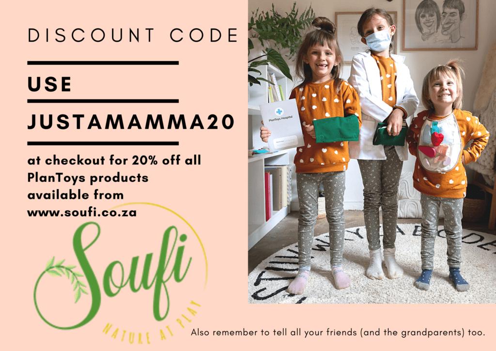 justamamma soufi discount code