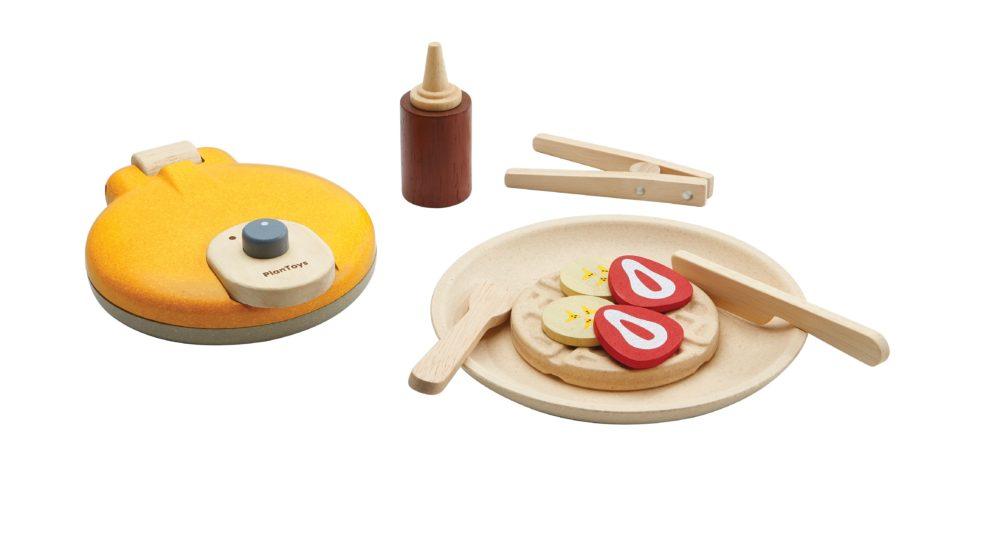 soufi plantoys waffle making for kids