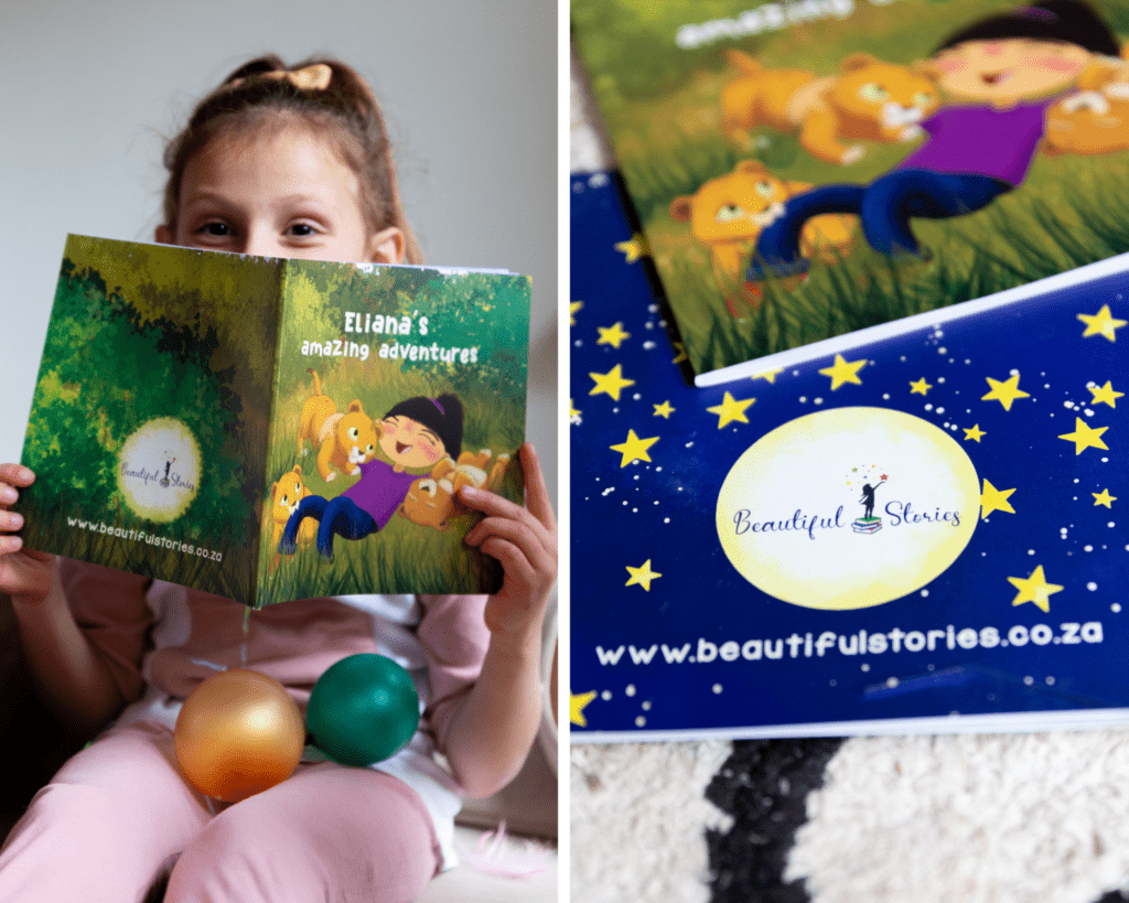 create your own personalised kids story book south africa