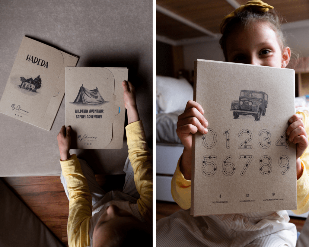 create your own personalised kids story book south africa with my stories