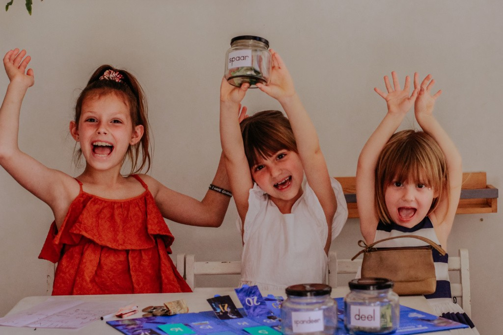 learning to save money with the sanlam saving jar app
