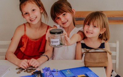 Money-saving tips for kids by age