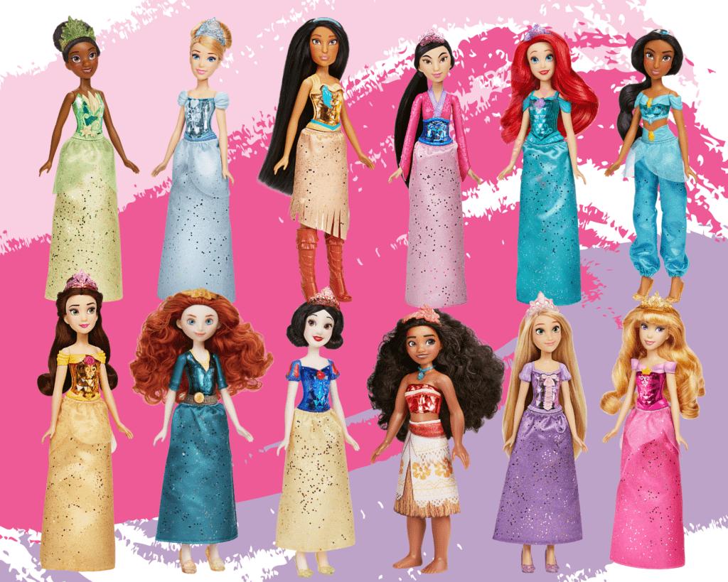 win a set of 12 classic disney princesses