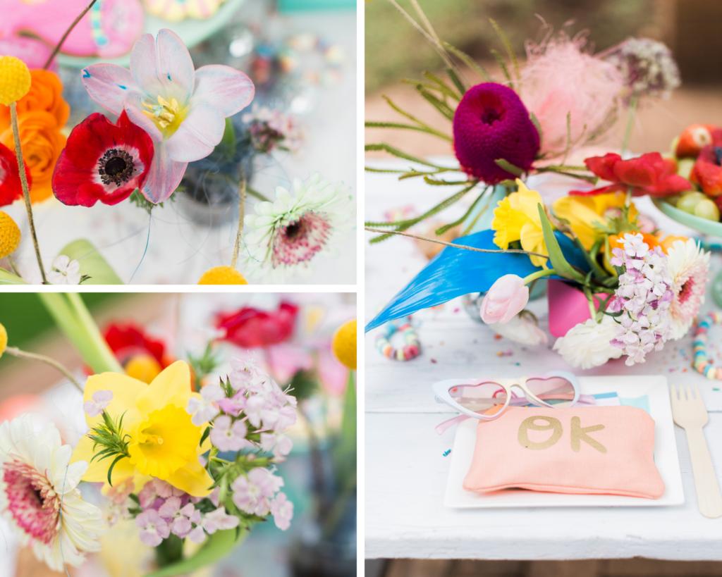 troll inspired flower decor ideas